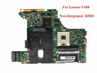 Wholesale Lenovo Nvidia - High Quality Laptop Motherboard Compatible For Lenovo V480 Non-Integrated 90002000 DDR3 100% Tested&Testing Video Support