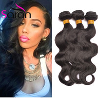 Onda / Straight / Loose / Curl Profundo / Kinky Curly Cabelo Humano Weave Bundles Indian Remy Cabelo Extensões