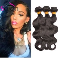 Wholesale Brazilian Hair Weave Curl Brown - Peruvian Malaysian Brazilian Virgin Hair Body Wave Straight Loose Deep Curl Kinky Curly Human Hair Weave Bundles Indian Remy Hair Extensions