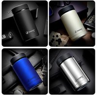Wholesale Stylish Mug - 2016 400ml Creative cans modelling vacuum cup 304 double layer stainless steel Mug modern stylish insulation cup Business cup