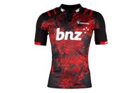 Wholesale Man Heats - 2017 Rugby League New Zealand Super Rugby Union Crusaders High-temperature heat transfer printing jersey Rugby Shirts