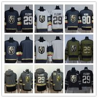 Wholesale Black Knight Logo - LAS Vegas Golden Knights #18 James Neal #29 Marc-Andre Fleury #80 Wong Black 100th  Army Green Embroidered New Logo Hockey Jerseys Free Drop