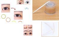 Wholesale Eyelid Strips - Wholesale- 600pcs Lift Makeup Stickers Eyelid Adhesive Tape Lace Double Strips Eye Tool