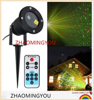 Wholesale Sky Spotlights - Laser Outdoor Lawn Light Sky Star Laser Spotlight Light Landscape Park Garden Lamp Decorations Christmas Laser Projector Outdoor