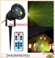 ingrosso decorazione di natale della stella di natale-Laser Outdoor Prato Light Sky Star Faretto a laser Luce Paesaggio Parco Giardino Decorazioni lampada Natale Proiettore laser esterno