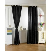 Wholesale New set black curtain Window Curtains For Kids Boys Girls room Living room Elegent Bule Drapes Cortinas para sala