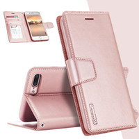 Wholesale Iphone Luxury Sheep - For iPhone X 8 7 6 6s Plus LG V30 Luxury Hanman Sheep Leather Wallet Case Kickstand Flip Cover For Samsung Note 8 s8 Plus Retail package