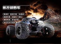 Wholesale Scale Rc Trucks - Wholesale-New Arrival Original RC Car 9115 car 2.4G 1:12 1 12 Scale 40KM+ RC RTR Brushed Monster Truck Off-road Car