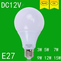Wholesale led bulbs globe w w w w w w cool white DC v E27 volt led jogo de luz wat lamp lps for sale led light energy saving bedroom