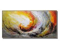 Wholesale Cartoons Artist - New Design Hand painted Canvas Painting Wall Art Abstract Oil Painting Home Decoeation Artist Painted Living Room Wall No Frame a08