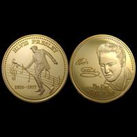 ingrosso doni di elvis-2017 Nuovo design! Il trasporto libero 5 pz / lotto Elvis Presley Souvenir Monete