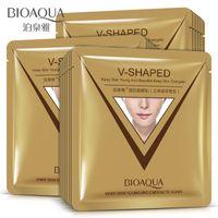 Wholesale V Shape Face - BIOAQUA Face Mask Lift Firming 3D V-shaped Facial Mask Moisturizing Nourishing Whitening Oil Control Skin Care