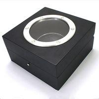 Wholesale Wood Jewelry Organizer Case - 2017 New Brand Original Wooden Watch Display Case Box Jewelry Storage Organizer Windowed Case Watch Storage Box