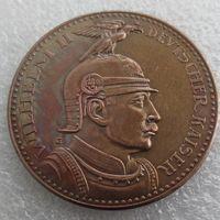 Wholesale People German - PRUSSIA (German S.) 5 Mark 1913 Proof - Bronze - PATTERN - Wilhelm II Copy Coin