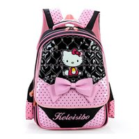Hallo Kitty Primary School Rucksack für Mädchen Fashion School Bag Kinder Lovely Bookbag Kinder Schultasche Mochila escolar Rucksack