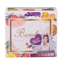 Wholesale Skin Whitening Essential Oils - Bumebime Handmade Soaps with Fruit Essential Natural Mask Bright Oil Soap Body Skin Smooth Soap 100g