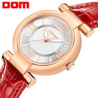 Wholesale Dom Ceramic - dress fashion Watch Women DOM brand luxury Fashion Casual quartz watches leather sport Lady relojes mujer women wristwatches Girl Dress