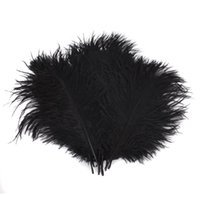 Wholesale 22 Events - Colorful 22-24 inch(55-60 cm) white Ostrich Feather plumes for wedding centerpiece wedding party event decor festive decoration Z134