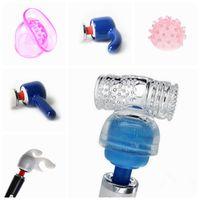Wholesale Head Massager Accessories - Accessories Head Cap Magic Wand Hitachi Full Body Massager Vibrator Attachment