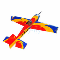 """Wholesale Extra Airplane - Wholesale- Electric plane Extra-330 57"""" 4 Channels Oracover Film Large Scale RC Balsa Wood Model Airplane"""