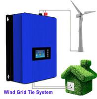 Wholesale Grid Tie Controller - 1000W Wind Power Grid Tie Inverter with Dump Load Controller Resistor for 3 Phase 24v 48v wind turbine generator