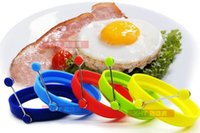 Wholesale Egg Shape Fried - Round Shape Silicone Omelette Mould Shape for Eggs Frying Pancake Cooking Mould Breakfast Essential