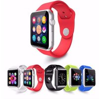 Wholesale Mp3 Phone Watches - DHL 20pcs lot A1 smart watch for Apple android phone support SIM TF card MP3 smartwatch with camera Anti-lost pk DZ09 GT08 U8