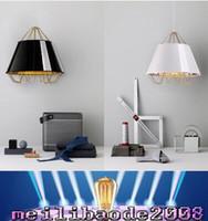 Wholesale Unique Study - Modern Unique Creative Fabrics Pendant Light Brief LED Lamp Living Room Dinning Room Light Fixture Office Light free shipping MYY