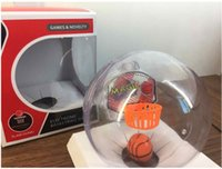 Children s handheld toys Prix-New Glitter Music handheld palm basket ball SHOOT A BASKETBALL Jouets pour enfants Mini électronique Mini Basketball Toyl
