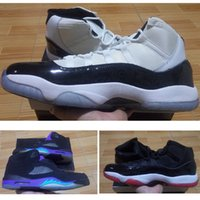 Wholesale Summer Women Shoes Plus Size - Plus size Retro XI 11s Bred 11 concord white black red 5s grape basketball shoes for men and women Basket boots 5 sneaker bigger size 14