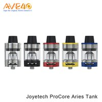 Wholesale metal aries resale online - Authentic Joyetech ProCore Aries Tank Five Colors Advanced Top Flip and fill System Fit for eVic Primo Mini Box Mod
