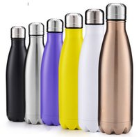 Wholesale Fashion Classic High capacity Stainless steel Coke bottle insulation Cup beer bottle creative promotional gift ML