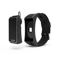 Wholesale Earphone Bracelet - 2017 JAKCOM Smart Band B3 Talkband Bracelet OLED Screen Touchpad Pulse Heart Rate Step Time Bluetooth Earphone Universal For Smartphone