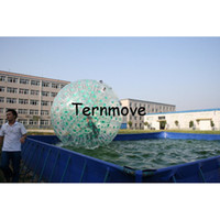 Wholesale inflatable globe ball for sale - Land body Zorb Ball Inflatable Human Sized like snow zorbing globe riding human hamster ball mm PVC water rollering ball