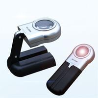 beleuchtete lupe großhandel-50 stücke 16X Handheld Beleuchtet Mini Lupe Lupe LED Klapp Juweliere Lupe Licht