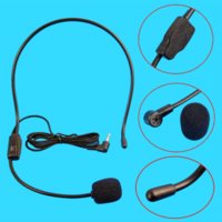 Wholesale amplifier voice speaker - Microphone Vocal Wired Headset microfono For Voice Amplifier Speaker Mike wholesale microphone vocal vocal headset