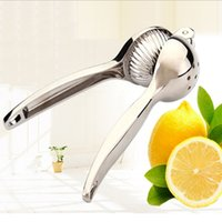 Juicer en alliage Pressurateur au citron Presser extracteur Exfoliant Juicer Hand Manual Orange Citrus Lime Presses à fruits au citron Outils de cuisine