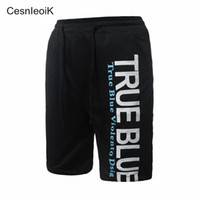 Wholesale High Knee Exercise - Wholesale- High quality Shorts men beach Short board Male Workout Shorts men's Casual Exercise boardshorts 2017 DK02