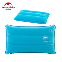Wholesale Mattress Kit - Wholesale- Naturehike Inflated Pillows Compressed Folding Non-slip Pillow Suede Fabric Use For Travel Camping Outdoor kits