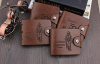 Brand new Mens Sacoche en cuir de haute qualité Porte-cartes Embrayage Cente Bifold Purse Vintage sac à main simple a459
