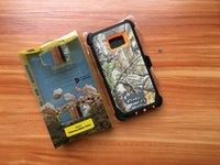 Wholesale Iphone Camo Case Clip - Camo Case 3 in one TPU Hybrid PC Pattern Printing Cases With Retail Package