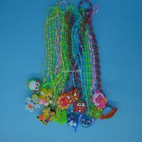 çocuklar yanıp sönen kolye toptan satış-ÇOCUK ÇOCUKLAR İÇİN LED AYDINLATMA KOLYE
