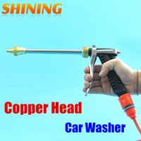 Wholesale High Pressure Washer Nozzle - Wholesale-Free Shipping High Pressure Water Gun Car Washer Washing Household Water Gun Nozzle Garden Sprayer Water Gun, Sprayer Water Gun