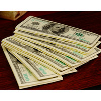 Wholesale Dollar Tissue Paper - Wholesale- 100 Dollars Napkin Tissue Dollar Bill Paper Towel Novelty Gift Personality Popularity Wipe Hot Selling New