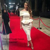 0be0b475bb2 Wholesale women splits side short mini dress online - Tea Length Middle  East Women Party red