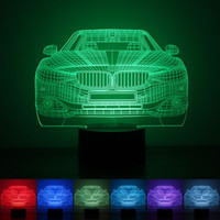 Wholesale Ball Light Table Lamp - Gift 3D Birthday Gradient Night Light Touch Contral Stereo Colored Acrylic Light Energy Night Lamp Table Lights