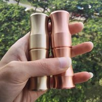 Wholesale Bamboo Cigarette - Clone Hstone Bane Mod E Cigarette Mechanical Mods Best Vape Mod Stainless Steel Brass Copper Material Bamboo Style for Retail Epacket Free