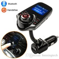 Wholesale Music Tuner - T10 Wireless Bluetooth Handsfree In-Car Kit Music Player Charger FM Transmitter
