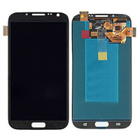 Wholesale Screen Lcd Galaxy Note2 - AAA Quality 2016 New LCD Lens Screen+Touch Digitizer Assembly For Samsung Galaxy Note2 n7100 display Black  White Gold Free Shipping