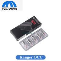 Wholesale Kangertech Coils - Authentic Kanger Vertical Subtank OCC Coil New Package 0.15ohm 0.2 0.5 1.2 1.5ohm fit Kangertech Subtank Mini Nano Plus